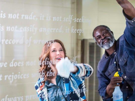Renée Zellweger and  Djimon Hounsou co-star in 'Same
