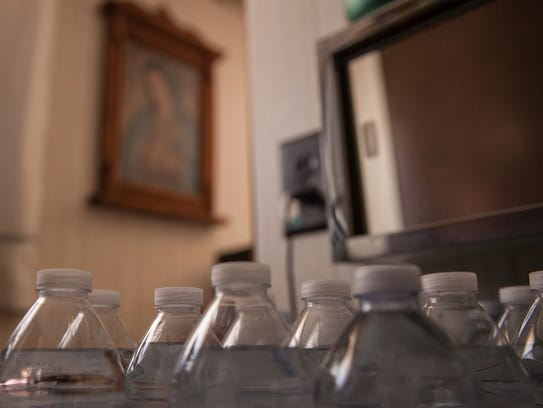Residents of La Union, N.M., keep plenty of bottles