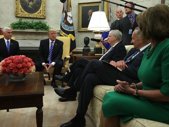 Fue la segunda vez en dos semanas que Trump dejó fuera