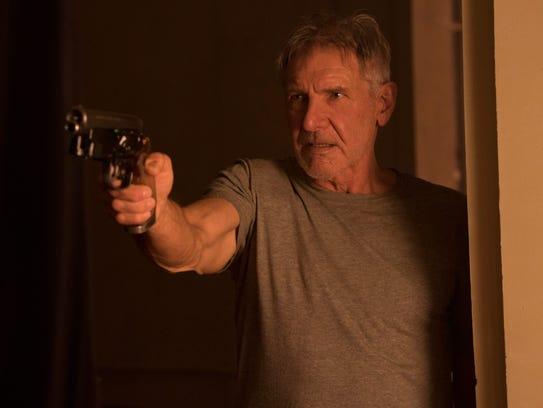 Harrison Ford returns as retired cop Rick Deckard in