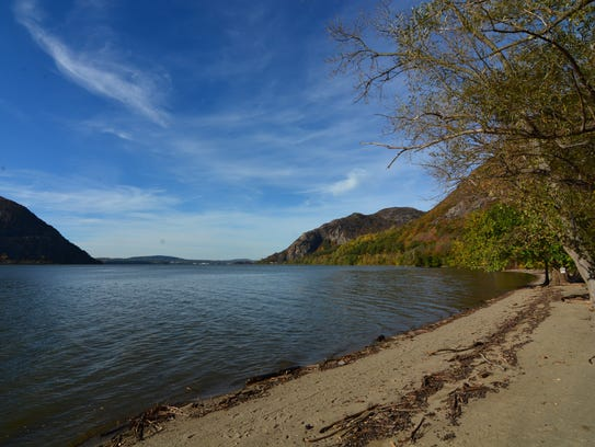 Take a stroll along the beach at Little Stony Point.