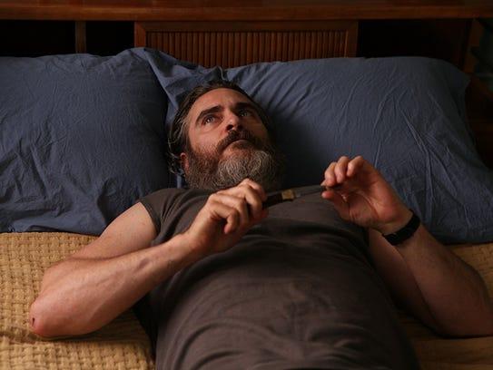 Joaquin Phoenix plays a war veteran battling his own