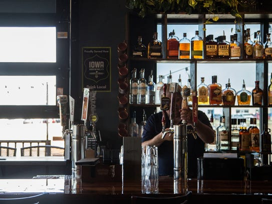 Inside the Gastro Grub and Pub on Wednesday, April