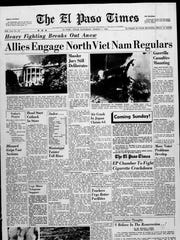 El Paso Times front page on March 5, 1966.