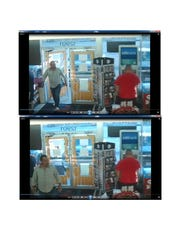 Images of beer theft suspect on March 19 at a 7-Eleven