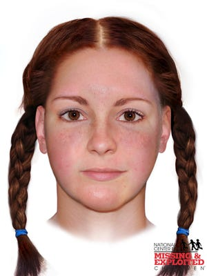 """A reconstructed image of the """"Buckskin Girl,"""" who was beaten and strangled in rural Ohio in 1981."""