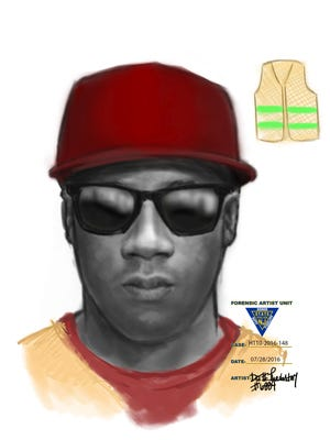 Sketch of one suspect in Chatham jewelry store robbery