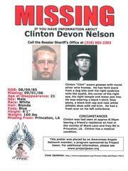 Clinton Nelson has been missing for 10 years.
