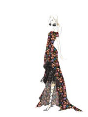 Another design from Nicole Miller. During Fashion Week,