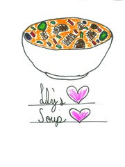 I would make a special soup for my holiday meal. It would contain turkey, gravy, potatoes, turkey broth, pickles, pimiento, green beans, celery and onions. The taste would be similar to vegetable soup. It would be a tasty and warm addition to a holiday dinner! Lily Hutchison Grade 7, Helfrich Park STEM Academy