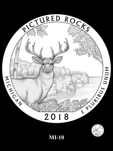 This potential design for a Pictured Rocks National