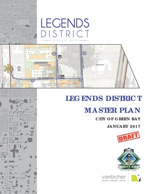 City of Green Bay's draft of the Legends District Master Plan