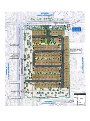 Shea 124 developers want to build 38 duplexes at the corners of Dove Valley and Scottsdale roads in north Scottsdale.