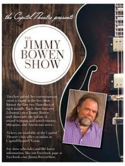 Poster for the Jimmy Bowen Show.
