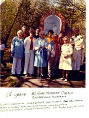 A 25th anniversary dedication photo was taken in 1979.