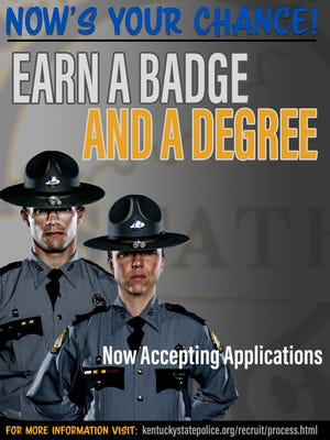 Kentucky State Police recruiting requirements have changed, and they are trying to spread that information to the public.