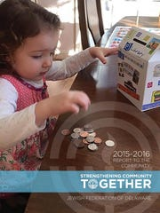 The Jewish Federation of Delaware's Annual Report won an APEX award.