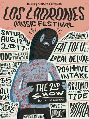 The second Los Ladrones Music Festival will be held on Saturday, Aug. 12 at the University of Guam Fine Arts Theatre.