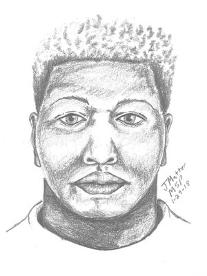 This sketch, done by the Michigan State Police, is a suspect wanted in a sexual assault of a Wayne woman back on Jan. 25.