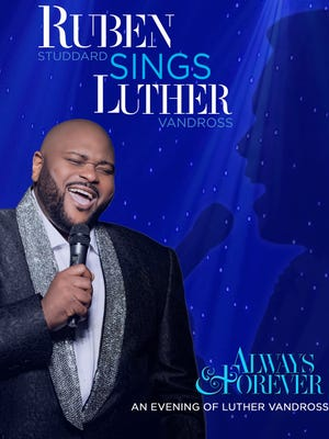 Ruben Studdard is bringing his 'Always and Forever' tour to the Saenger Theatre on May 11 at 7:30 p.m.