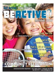 Community Recreation Dept. Summer Get Active catalog 2018
