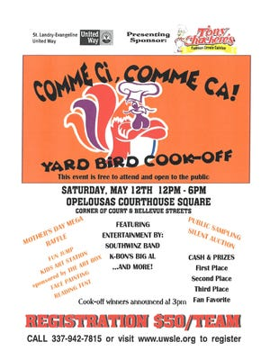 2018 Comme Ci, Comme Ca Yard Bird Cook-off