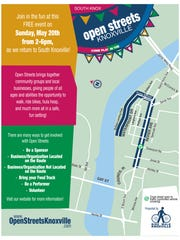 Open Streets will go from 2 to 6 p.m. Sunday, May 20,