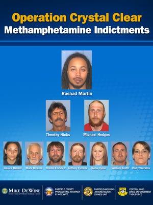 Drug bust suspects