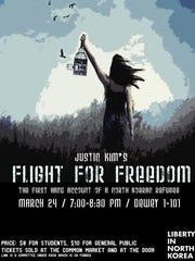 Justin Kim's Flight for Freedom Poster