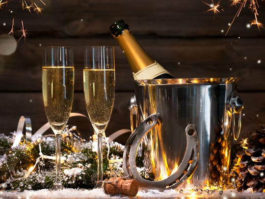 The best things to do New Year's Eve are parties with ball drops and champagne toasts.
