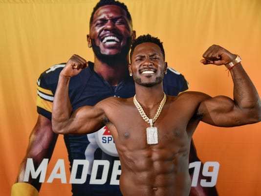 USP NFL: ANTONIO BROWN-MADDEN 19 COVER ATHLETE S FBN USA CA