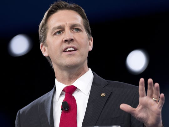 Sen. Ben Sasse, Republican of Nebraska, speaks during