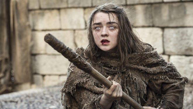 "Maisie Williams stars as Arya Stark in ""Game of Thrones."""