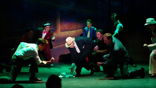 """Woodstock Playhouse presents the musical """"Guys and Dolls"""" July 1-3."""