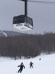 The Jay Peak tram shown in 2004.