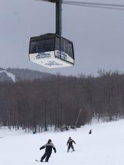 The Jay Peak tram shown in 2004.