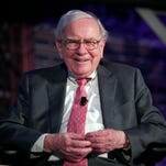 """455663592.jpg DETROIT, MI -Billionaire investor Warren Buffett speaks at an event called, """"Detroit Homecoming"""" September 18, 2014 in Detroit, Michigan. The purpose of the invitation-only event of Detroit expatriats is to give the group a chance to reconnect, reinvest and reinvent with their hometown. The topic of Buffet's conversation was, """"Why I'm Bullish on Detroit."""" (Photo by Bill Pugliano/Getty Images)"""