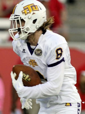 Tennessee Tech wide receiver Bock McCoin had nine catches for 265 yards against Houston.