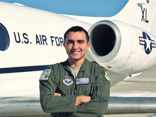 Air Force Veteran Jacob Daniels is pictured here.