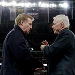 Report: Jerry Jones tried to delay Roger Goodell deal