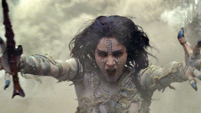 """Sofia Boutella plays the villain in the Tom Cruise version of """"The Mummy."""""""