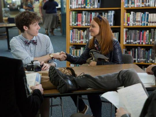 Tyler (Devin Druid, left) meets Mackenzie (Chelsea