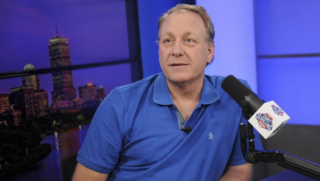 Former Red Sox pitcher Curt Schilling now hosts a radio show for Breitbart News.