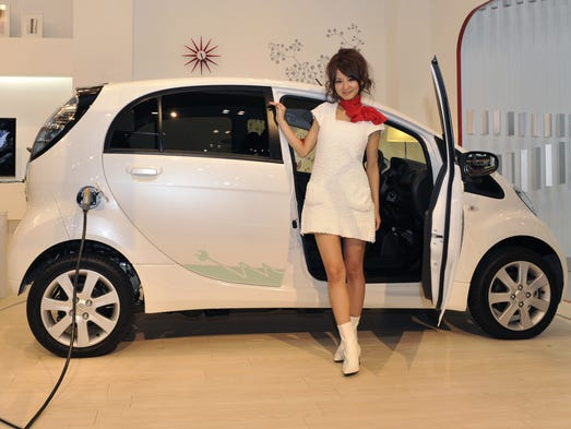 Lowest-rated Green Car is Mitsubishi's i-MiEV