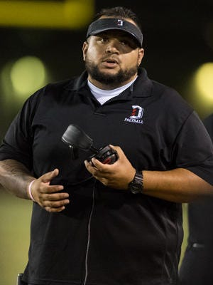 """Manuel """"JR"""" Alcantar, who took a struggling  program and led it to Dysart's first region championship in school history, has resigned."""