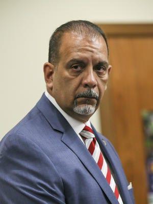 Former Perth Amboy Police Chief Benjamin Ruiz