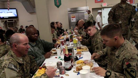 AP Afghanistan US Troops Christmas