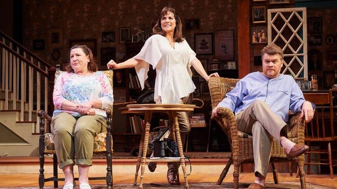 Sonia (Toni di Buono), Masha (Margaret Reed) and Vanya (John Scherer).