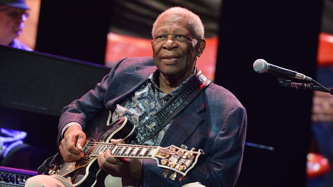 Blues legend B.B. King died late Thursday at his Las Vegas home.