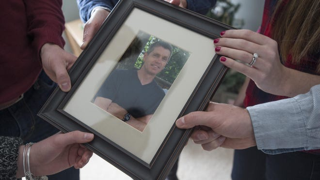 Stephen Towne's wife, his two sons and two daughters celebrated their first Christmas without the 'glue that held their entire family together.' Towne was killed Jan. 29, 2015, after Alton Massey, a driver with Parkinson's Disease, collided with his vehicle.